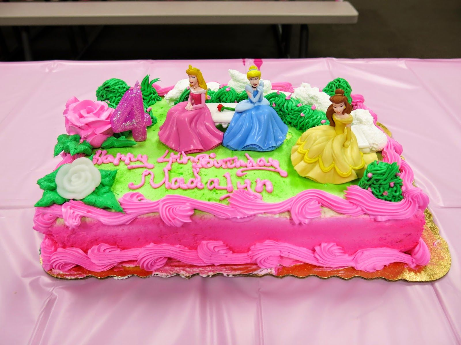 Disney Princess birthday cake from BiLo My Girls Birthday