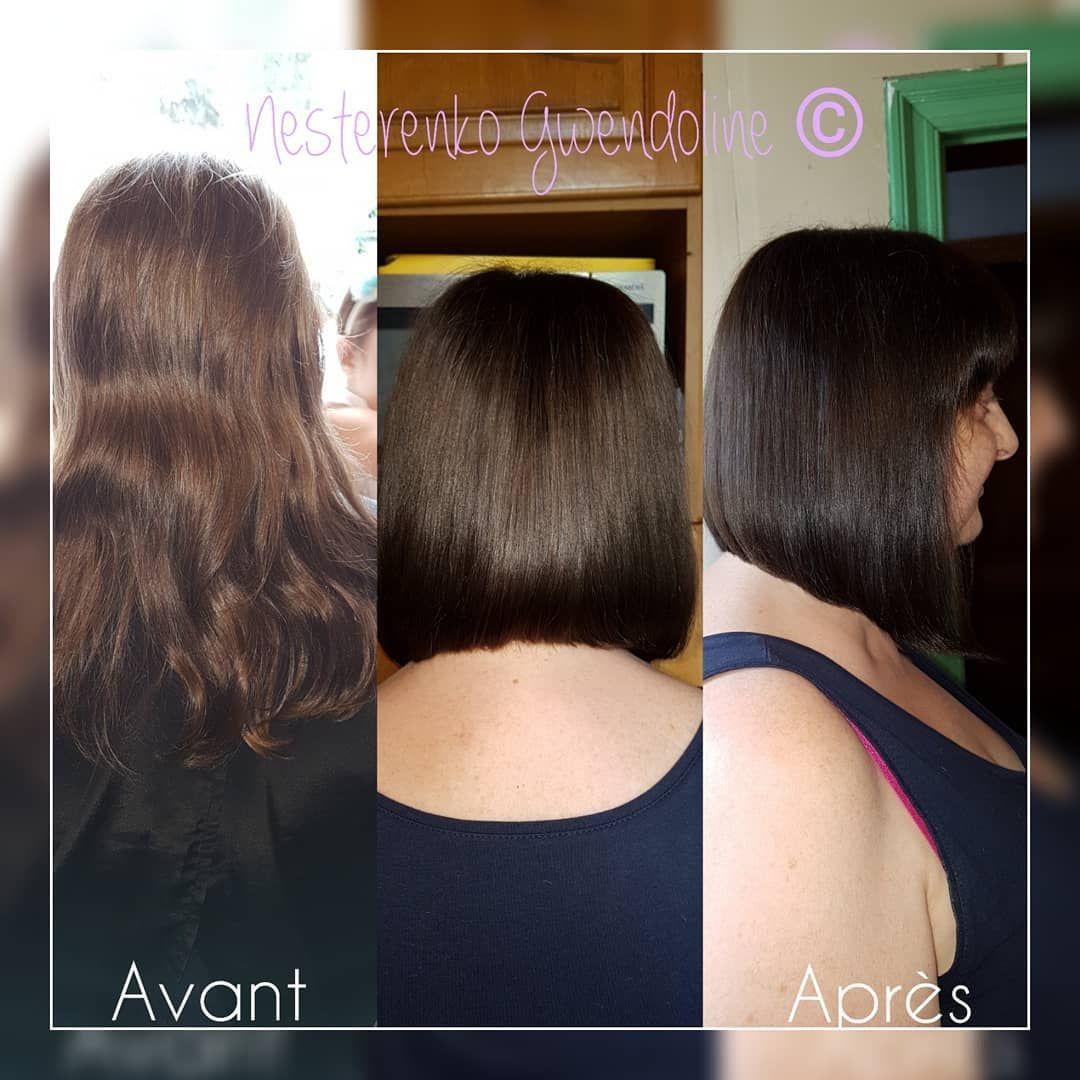 Coiffure Coloration Carre Plongeant Et Brushing Lisse Merci Pour Ta Confiance Coiffure Coupedames Hair Styles Long Hair Styles Beauty