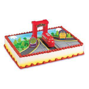 Chuggington Cake Kit by ABirthdayPlace on Etsy, $8.99