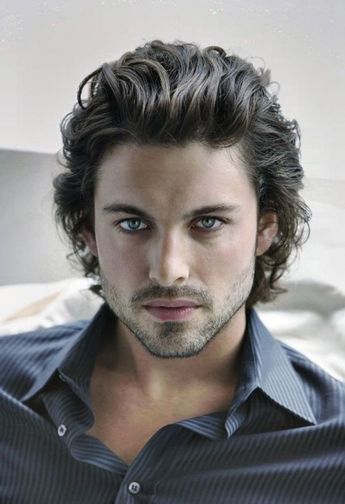 Image Result For Curly Hair Mens Mid Length Long Hair
