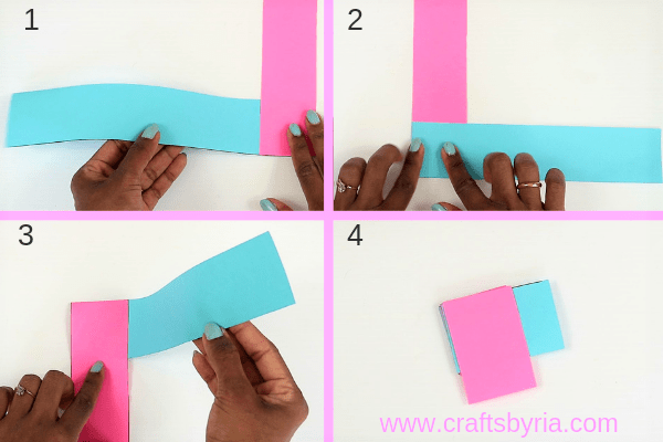 Easy Paper Dragon puppet craft for Chinese New Year