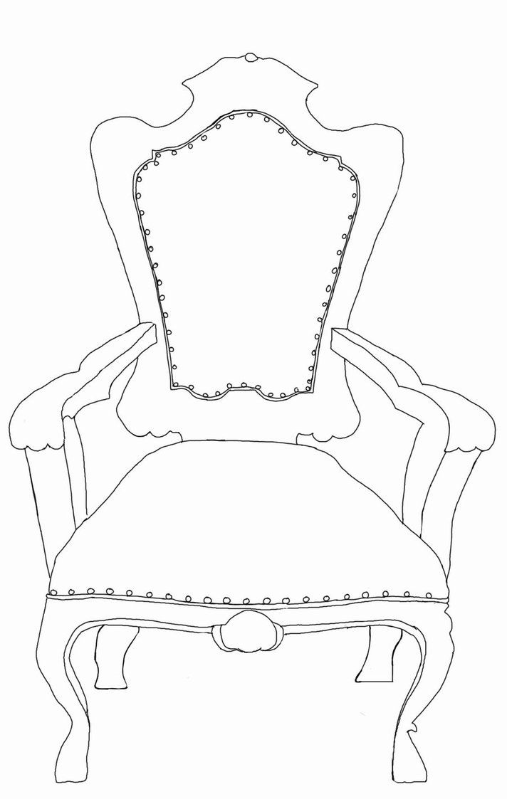 Throne Template By Mad World11 On Deviantart Crafts Kids Church Digital Clip Art