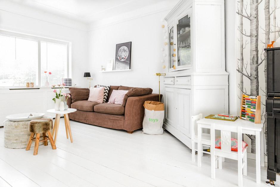 The GI home\'s diary: Base bianca e tanta luce in una casa vicino ad ...