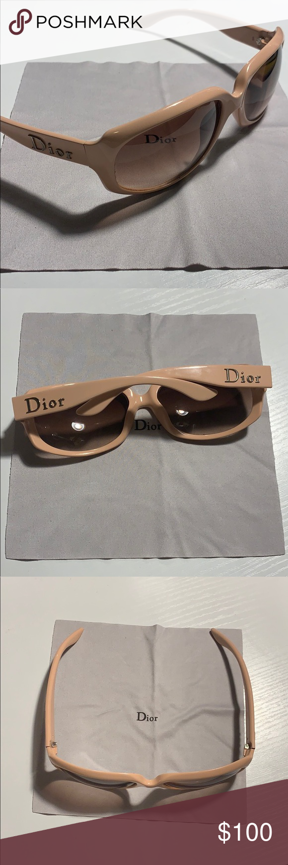 ea195f0b1e36 Spotted while shopping on Poshmark  🕶AUTHENTIC DIOR Glossy 2 Sunnies🕶!   poshmark  fashion  shopping  style  Dior  Accessories