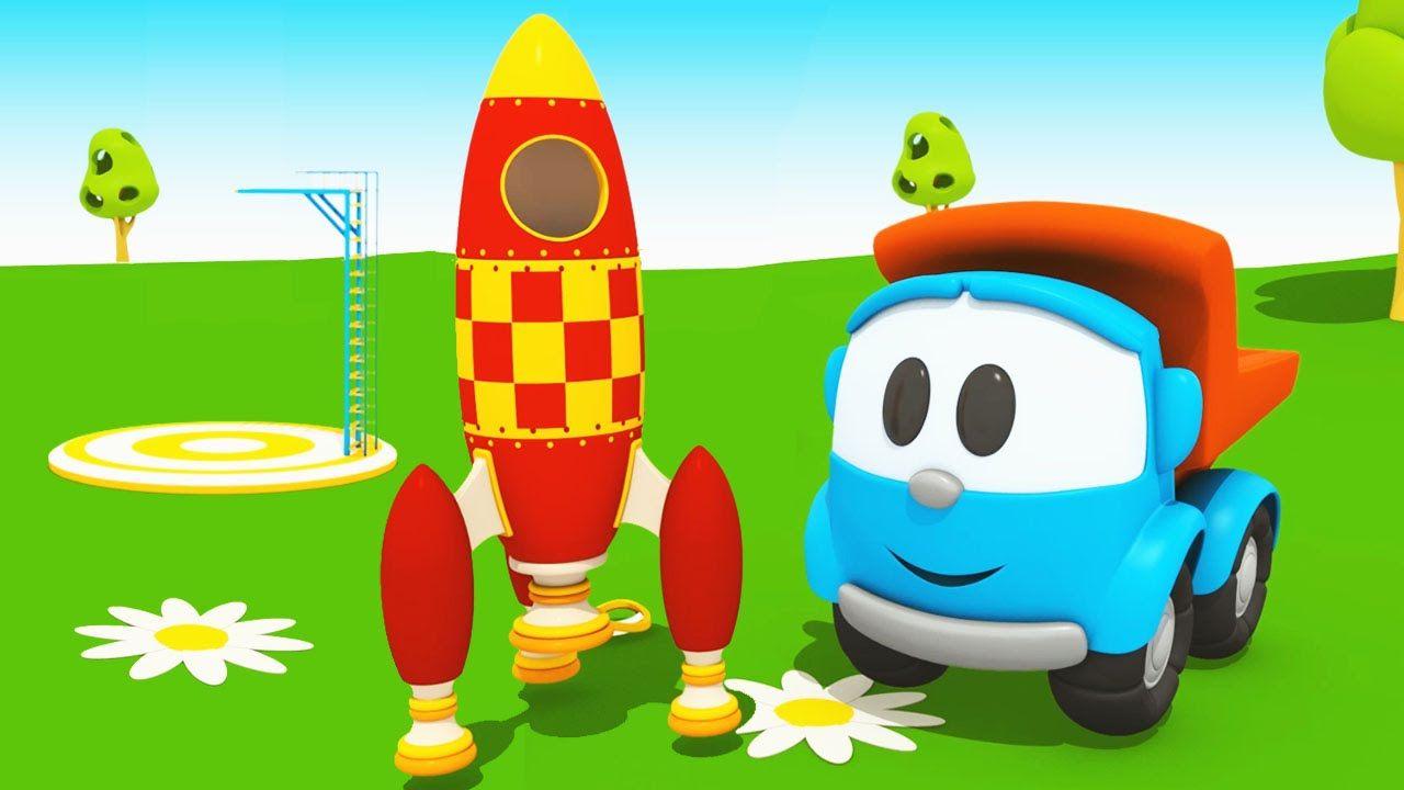 Cartoni animati per bambini camioncino leo junior e l astronave