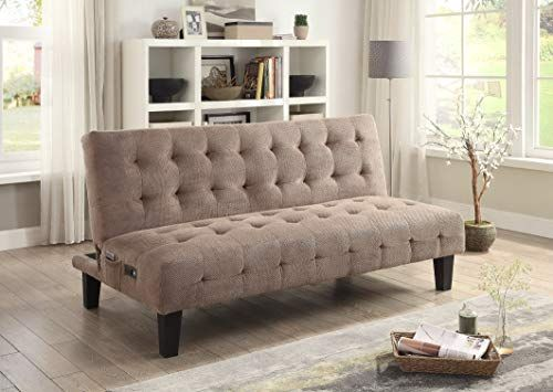 Review Coaster Home Furnishings Adjule Sofa Bed With Usb And Ports