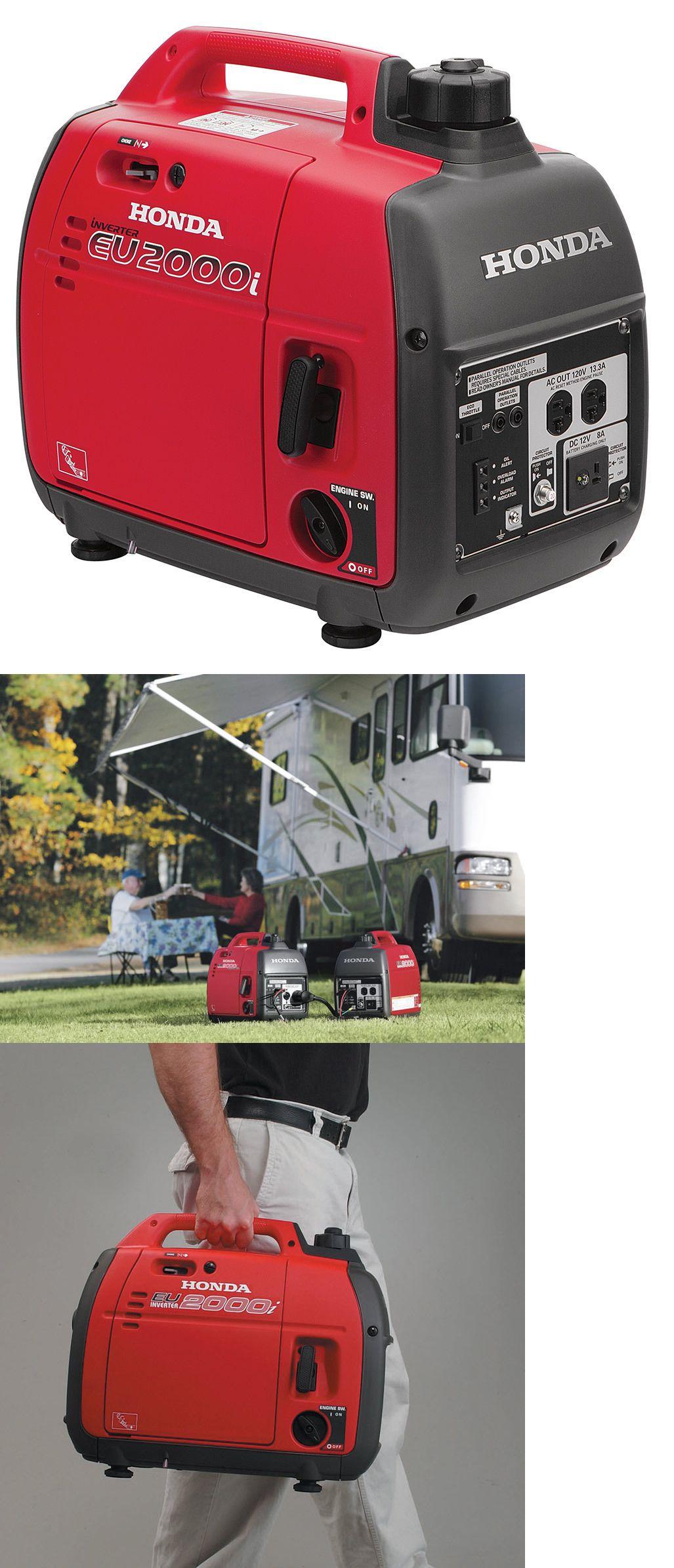 Generators Honda Eu2000i Super Quiet Portable Generator W 3