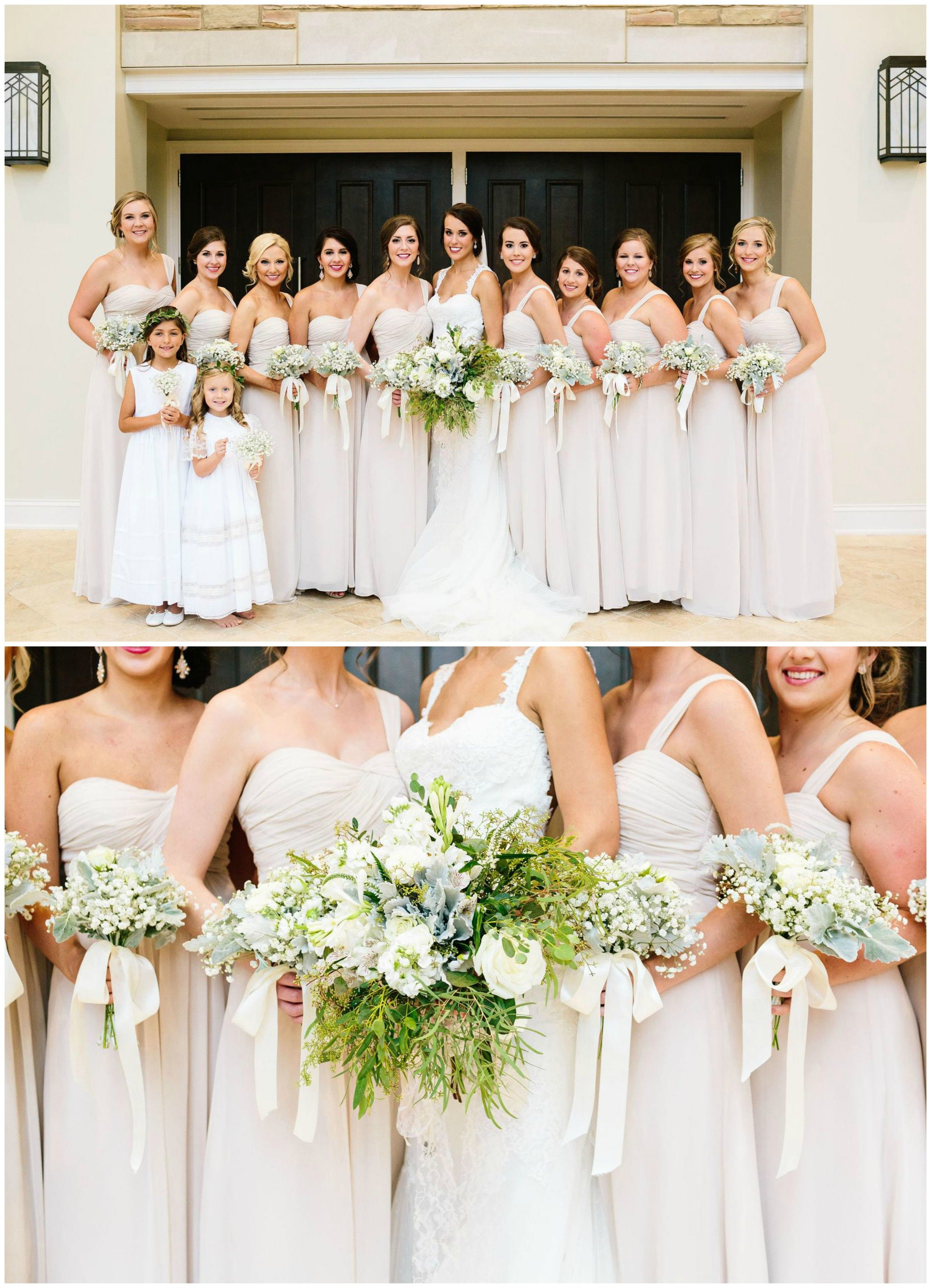 Formal Bridal Party Off White Bridesmaid Dresses White Wedding Bouquets Lon White Bridesmaid Dresses Long White Bridesmaid Dresses Wedding Dress Alterations [ 4000 x 2891 Pixel ]