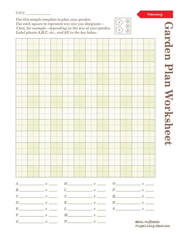 Use These Printable Garden Notebook Sheets to Organize ...