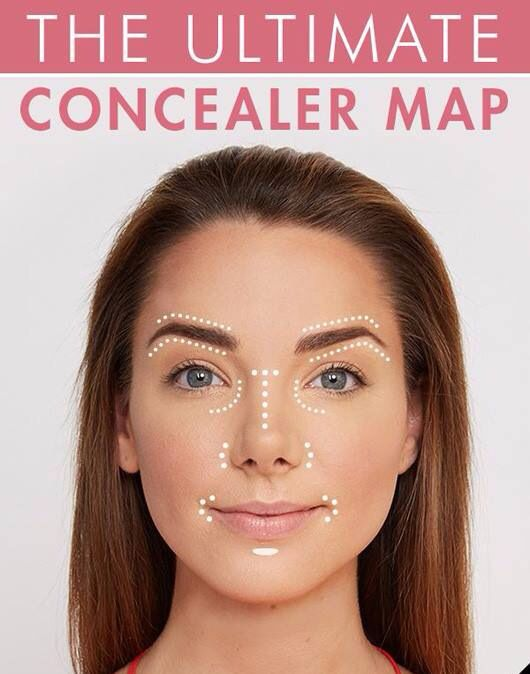 Concealer map