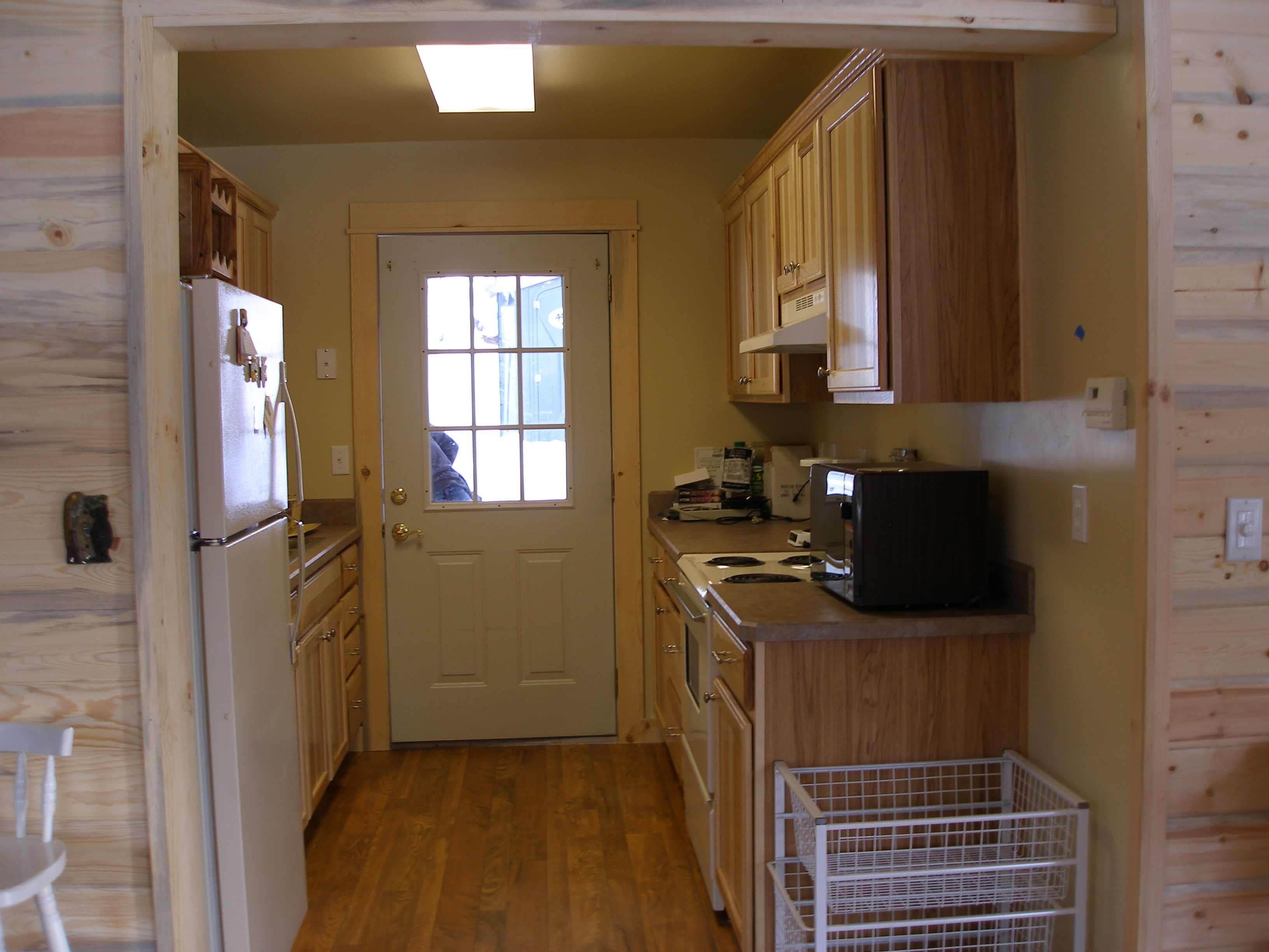 After pic of a kitchen that sustained #SevereWaterDamage ...