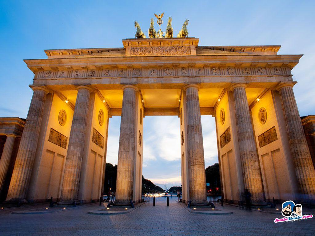 Germany Places Google Search Brandenburg Gate Berlin City