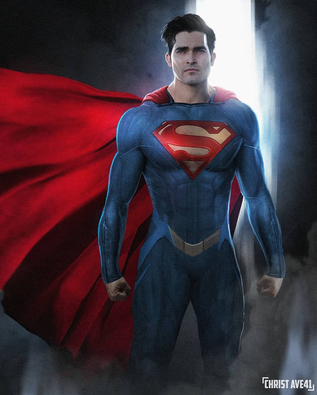 Christ Ave On Instagram Superman Lois Is Coming To Cw Show And Tylerhoechlin Deserve A New Super Suit This Is In 2021 Superman Lois Superman Dc Comics Superman