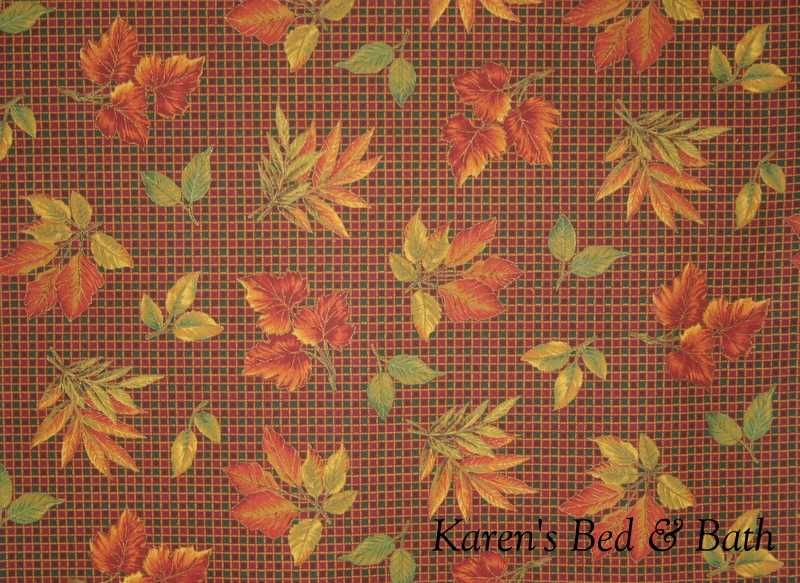 Curtains With Autumn Colors Autumn Fall Leaf Leaves Green Orange - Autumn colours for the curtains