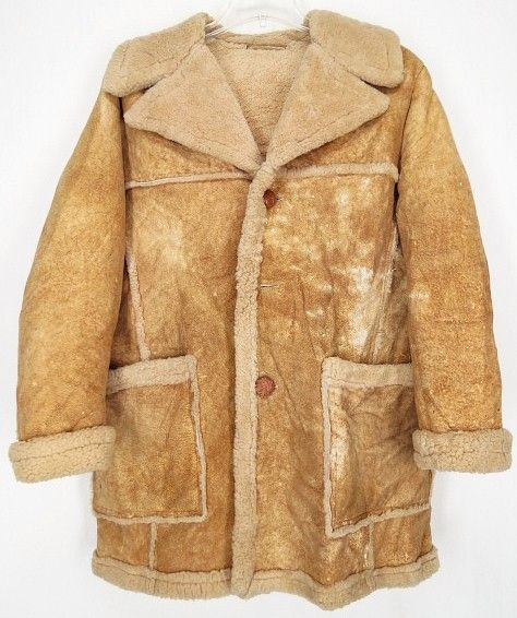 Sawyer Of Napa Shearling Coat 3 Identical To The One My Father Wore Want One So Bad Dad Marlboro Man