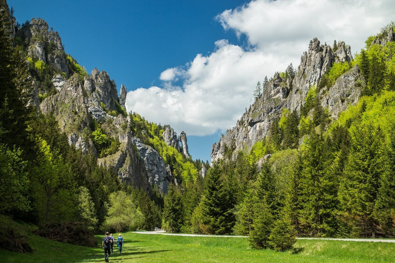 Vratna Valley in the Mala Fatra mountains | Hiking trip ...