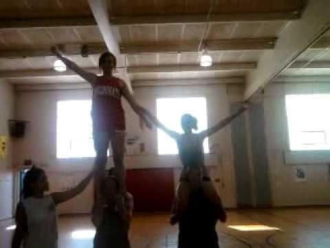 pintiffany cote on cheer coach/ routine inspo  cheer