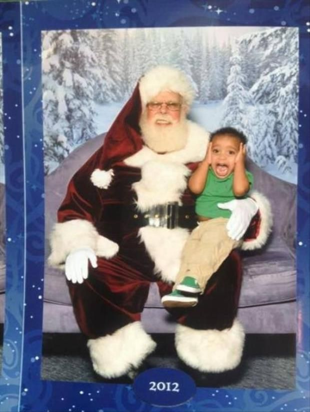 I M Starting To Think Kids Don T Like Santa 27 Pics Creepy Christmas Scary Christmas Bad Santa