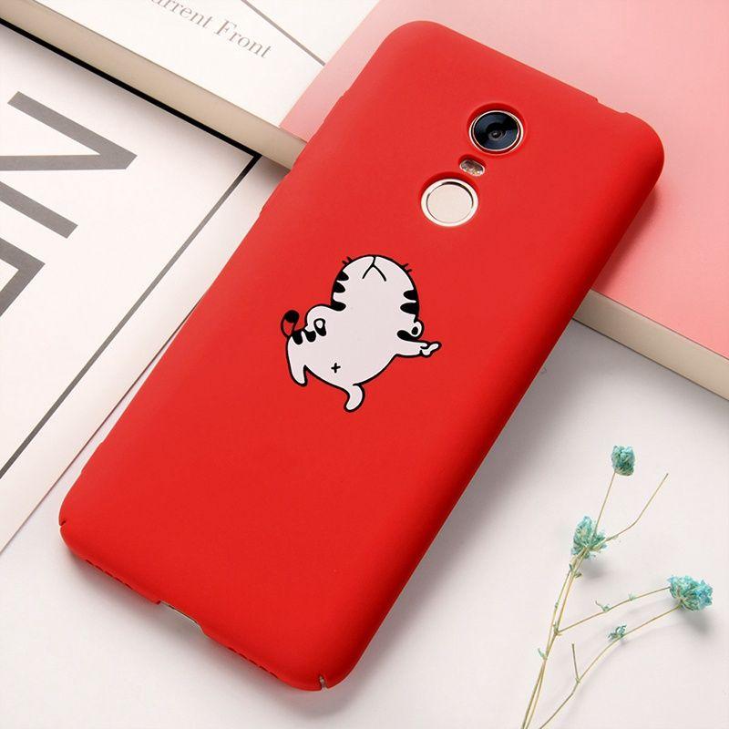 Hard Pc Case Xiaomi Redmi 5 Plus Case Cute Cartoon Cat Animal Cover For Xiaomi Mi A1 5x Redmi 4x Note 4x 5a Case Cartoon Cat Cute Cartoon Pets Cats