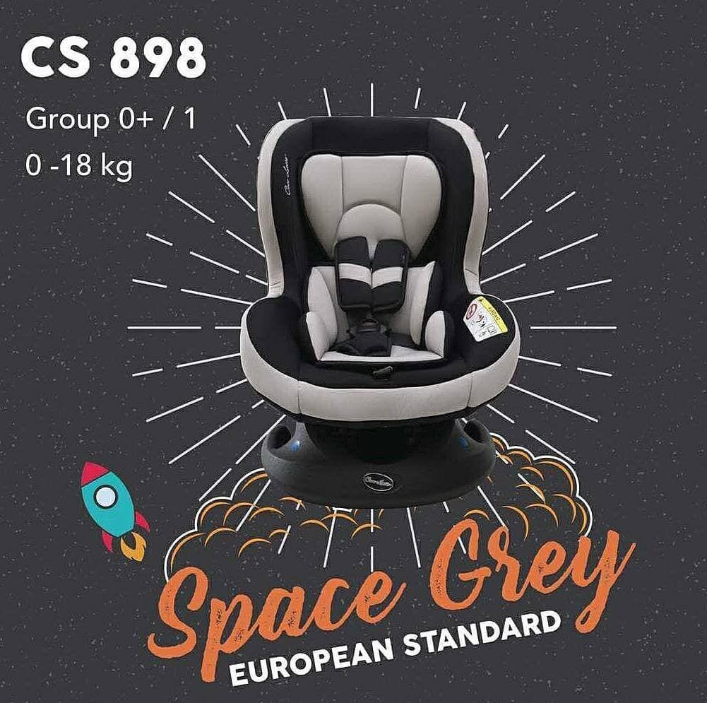 Cocolatte carseat cl898 space grey Carseat dengan desain