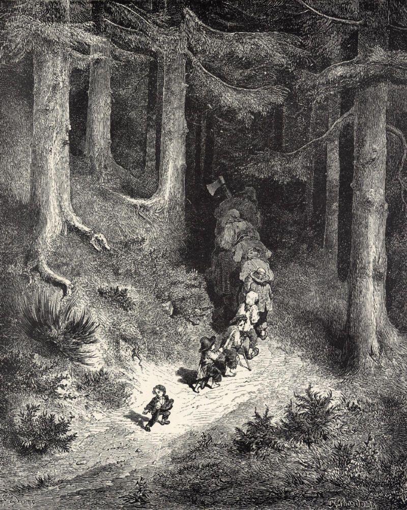 Gustave Doré Le Petit Poucet : gustave, doré, petit, poucet, Gustave, Doré, Doré,, Petit, Poucet,, Conte, Fées