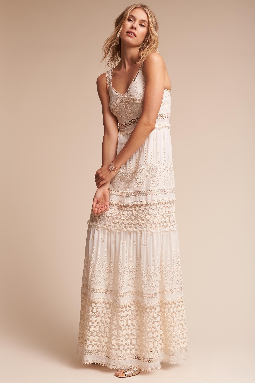 Eyelet wedding dress  Eyelet Dress from BHLDN  Dresses  Pinterest  Bhldn Wedding