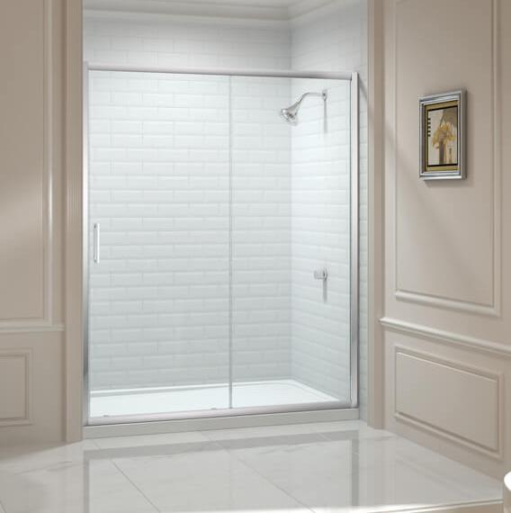 Merlyn Series 8 Sliding Door 1000mm In 2020 Shower Room Sliding Doors White Shower