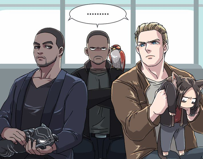 This is my new favorite fanart for so many reasons | Marvel