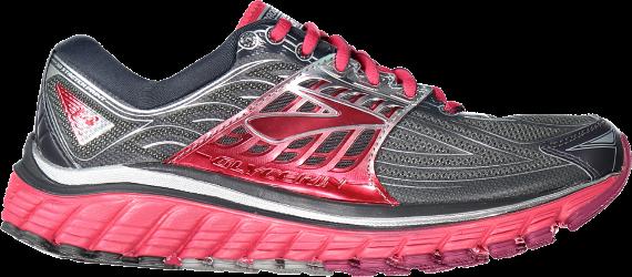 eaa069788 Brooks Women's Glycerin 14 Road-Running Shoes Anthracite/Azalea 9.5 Narrow