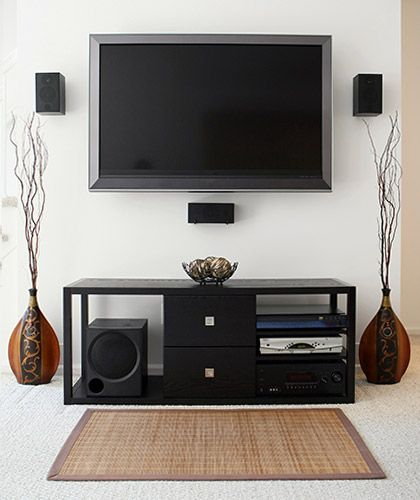 Brilliant Home Theater With Hidden Speaker Wires Home Interiors In 2019 Wiring Digital Resources Helishebarightsorg