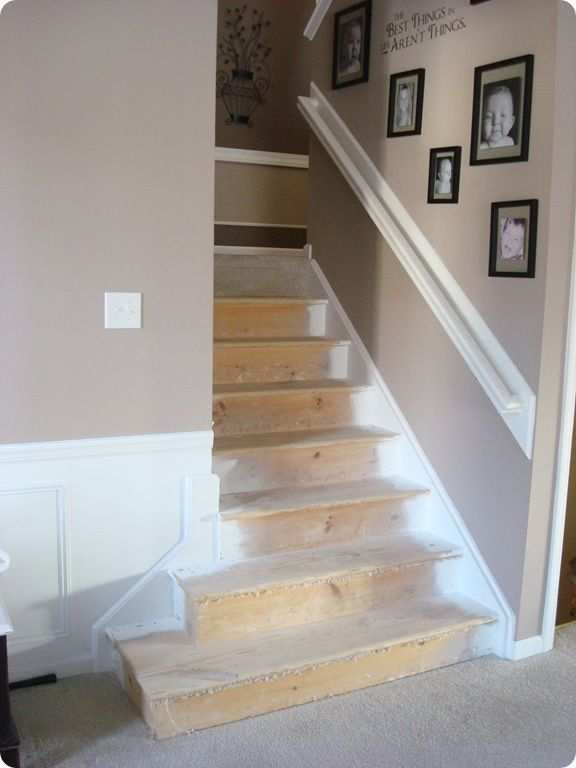 Like that for dressing up a wall mounted stair rail ...