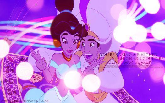 Princess Jasmine and Aladdin (135 pieces)
