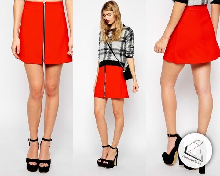 J00610 Asos Sukienka Struktura Zip Front 46 5808423507 Oficjalne Archiwum Allegro Fashion Mini Dress Dresses