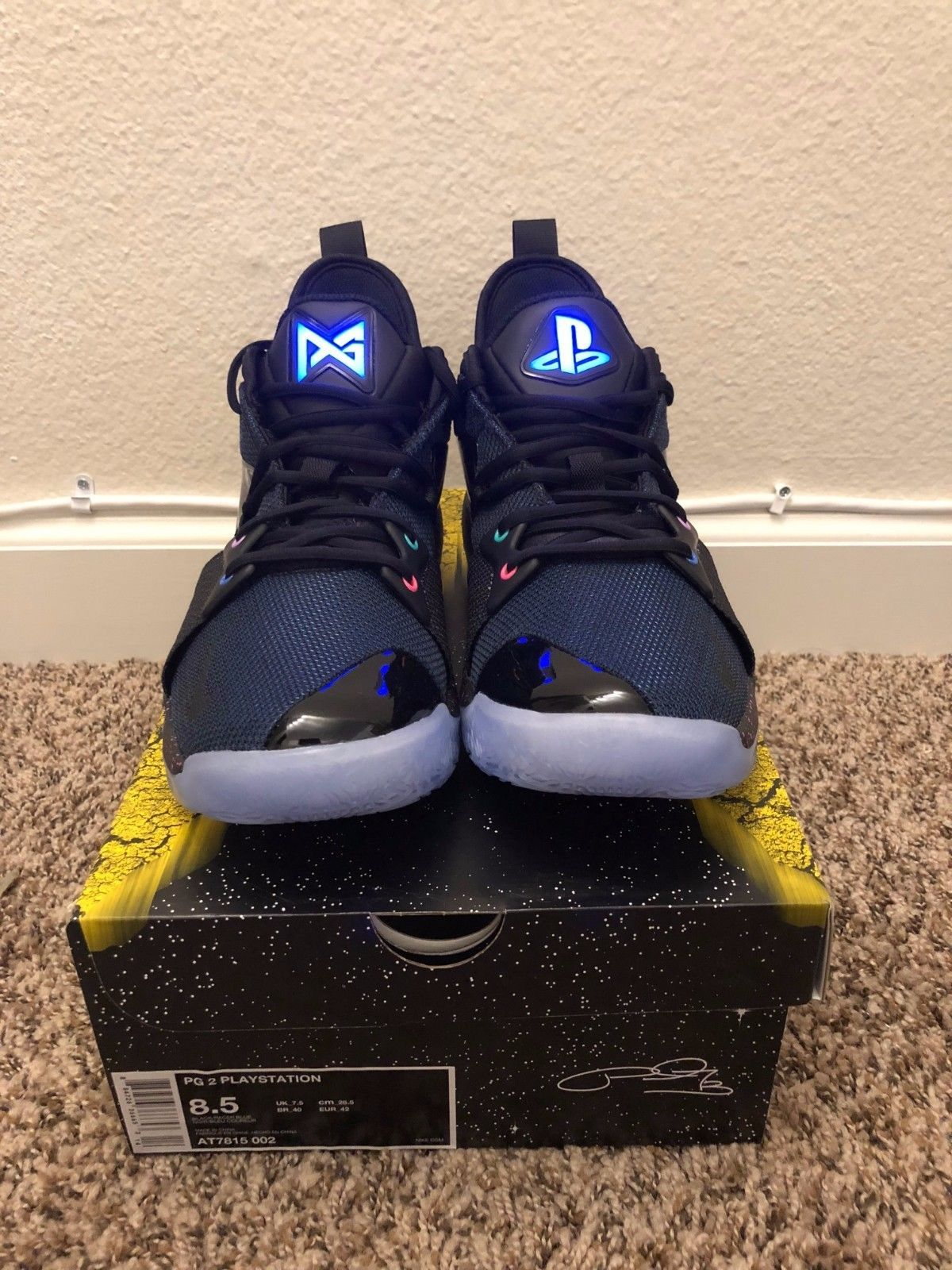 02dc2887a2ebfc Nike PG2 Paul George PS4 PlayStationÂSize 8.5 Limited Edition.Ready to ship  ASAP