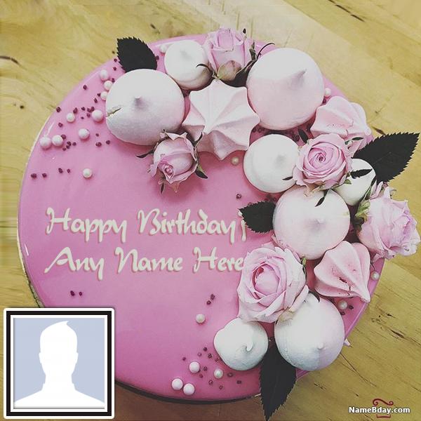Write Name On Birthday Cake For Sister With Photo Birthday Cake