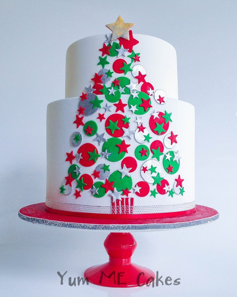 modern Christmas tree cake Christmas/Winter Cakes ...