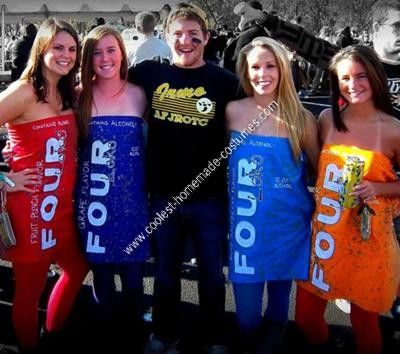 Coolest homemade four loko group halloween costume group halloween coolest homemade four loko group halloween costume solutioingenieria Image collections