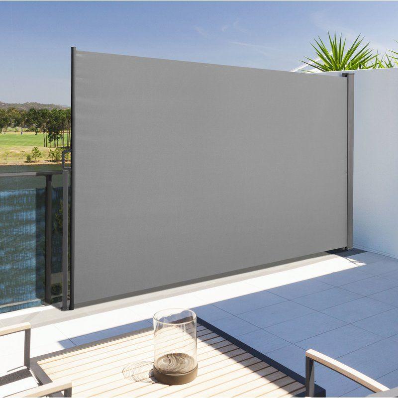 Garten Living Ausfahrbare Seitenmarkise Dupont Bewertungen Wayfair De Im Freien Markise Sonnenschutz Terrasse