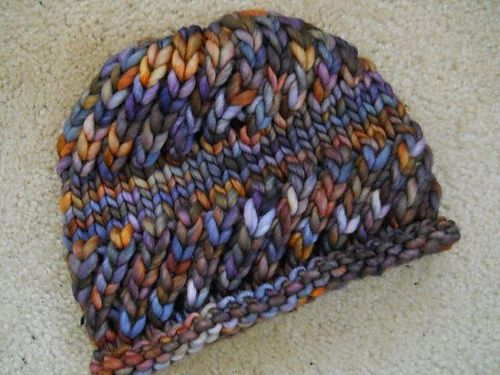 Darn Knit Rasta Hat\' by Aimee Pelletier. Super-Bulky 75-90yds ...