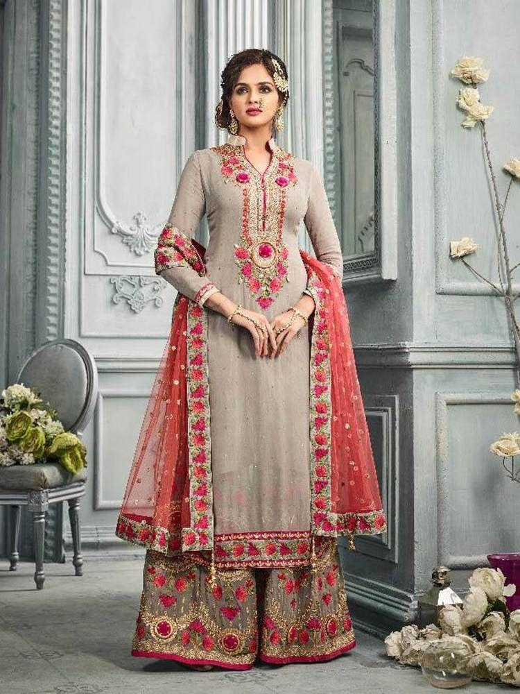 Bridal Wear Indian Bollywood Kameez Salwar Pakistani Ethnic Anarkali Plazzo Suit