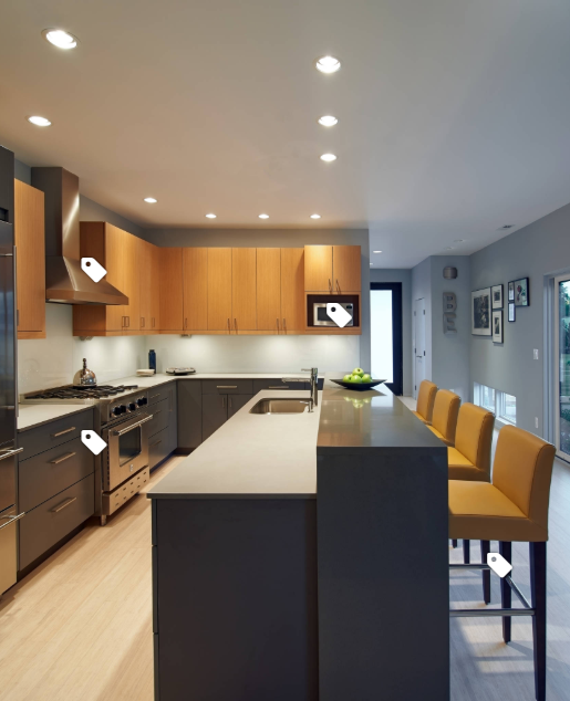 From Houzz Blue With White Trim And Maybe Grey Wall Modern Kitchen Cabinets Kitchen Cabinet Styles Classy Kitchen