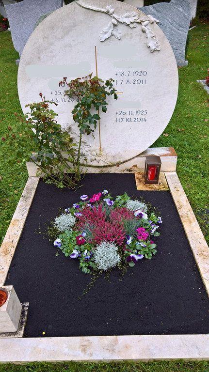 Bildergebnis für grabgestaltung pflegeleicht #friedhofsblumen