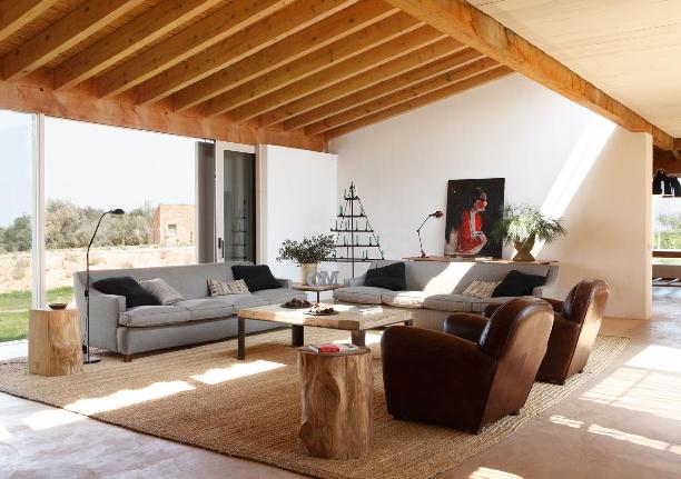 Casas de campo casas de campo interiores arquitectura for Ver interiores de casas modernas