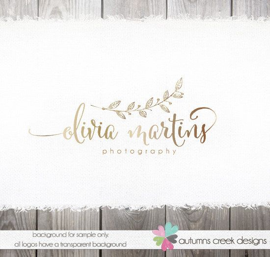 premade logo photography logo premade logo designs by autumnscreek