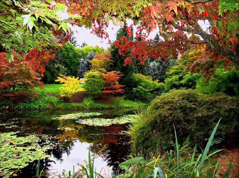 VanDusen Botanical Gardens Vancouver Canada Via
