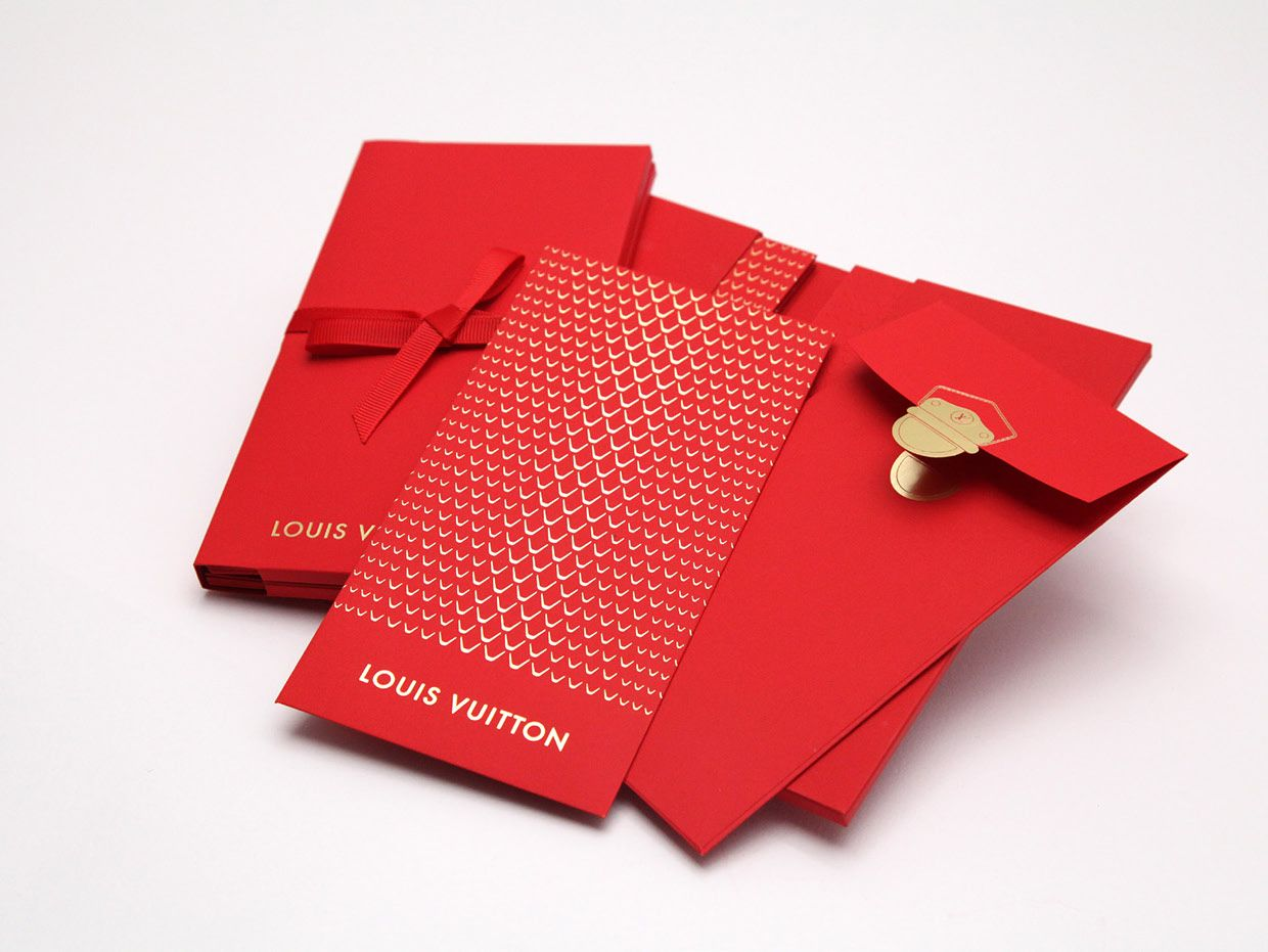 lucky money pocket for louis vuitton on behance red envelopes