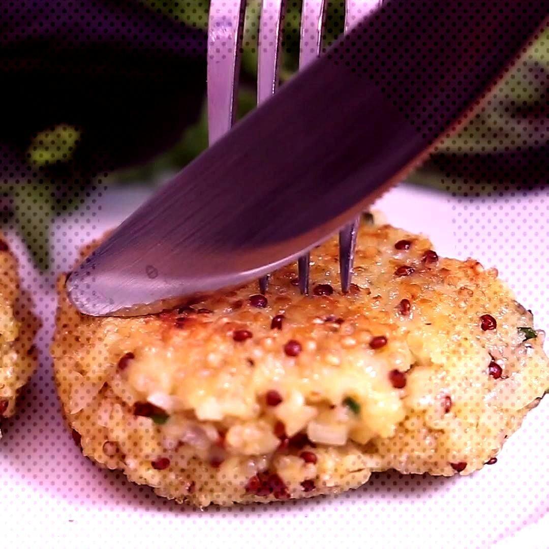 Galettes de quinoa Accompagnez vos repas de ces délicieuses galettes de quinoa au chèvre frais et