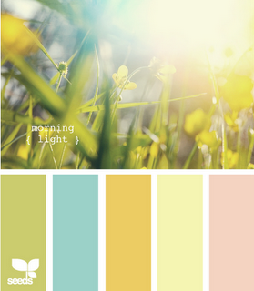 I think this is a nice color pallet for a nursery.