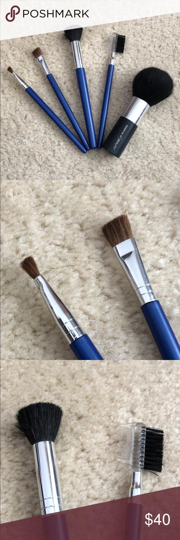 Beginner Makeup Brush Set Makeup brush set, Makeup