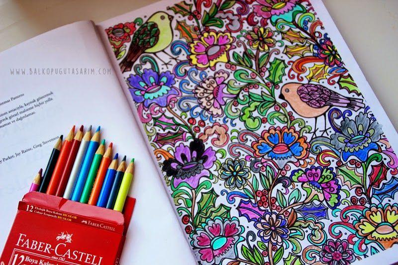 Buyukler Icin Boyama Kitabi Desen Ornegi Adult Coloring